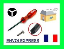 TOURNEVIS TRIWING FOR NINTENDO WII DS LITE DSL ROUGE NEUF TRI AILE SCREWDRIVER