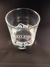 BAILEYS ETCHED GLASS TUMBLER - FREE UK POSTAGE