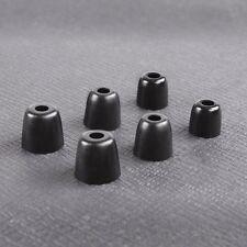 Replacement Ear Foam Tips buds for WESTONE.VIO.ULTRASONE Black S/M/L pack x 6 UK