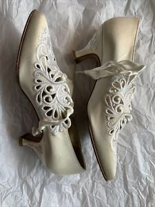 TITANIC Movie -  RARE - Rose's Heaven Wedding Shoes by Peter Fox Shoes
