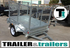 GALVANISED 6x4 CAGE TRAILER | TILT FUNCTION | 3FT HIGH CAGE | HEAVY DUTY