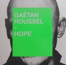GAETAN ROUSSEL : HOPE - [ NEW 2018 PROMO CD SINGLE ]