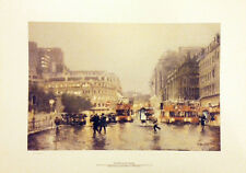 Rush Hour by Marc Grimshaw Signed Ltd Edition of Manchester Piccadilly
