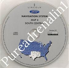 03 04 2005 FORD EXPEDITION NAVIGATION MAP CD 4 S CENTRAL OK TX AR LA MS TN V 2V
