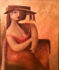 JUAN BAUTISTA ACHER- SHUM-Latin American- Original Oil Painting, 1950-1969