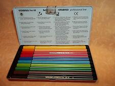 scatola RIGIDA  10 COLORI STABILO PEN 68    cod.7875