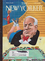 SEPT 8 2008 NEW YORKER vintage magazine - MCCAIN, MONOPOLY