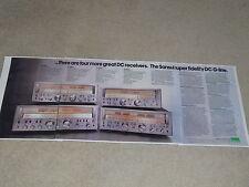 Sansui G-8000, G-7000, G-6000, G-5000, Lunettes, Articles, 4 Pages,