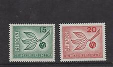WEST GERMANY MNH STAMP DEUTSCHE BUNDESPOST 1965 CEPT EUROPA SG 1404-1405