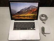 "Apple MacBook Pro 15"" Mid 2010 Core i7 2.66GHz 8GB RAM 250GB SSD Nvidia Graphics"
