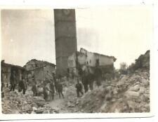 WW1 FOTO DAL FRONTE BOMBARDAMENTO CONEGLIANO ROVINE