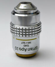 Olympus S Plan APO 10x 0.40 160/0.17 Objective Microscope SPlanApo Planapo