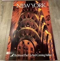 """Piedmont Airlines New York Poster 24"""" x 36"""""""