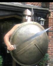 More details for frank miller 300 spartan shield sword spear helmet authentic windlass studios