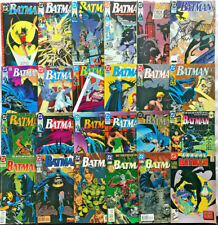 BATMAN#442-532 VF-NM LOT 1990 (24 BOOKS) BATMAN DC COMICS