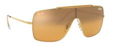 Ray-Ban Herren Sonnenbrille RB3697 WINGS II 9050/Y1 35mm verspiegelt P E5