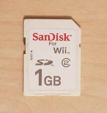 Oficial Sandisk Wii 1GB Tarjeta de memoria SD-Clase 2 (2)