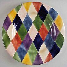 2 Tabletops Unlimited CARNIVAL dinner plates