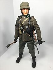 1/6 DRAGON WERMACHT PARATROOPER SUDETENLAND INVASION MP-41 P-38 DID BBI WW2 21ST