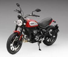 1:12 True Scale Miniatures 2015 Ducati Scrambler Icon Rosso Red TSMMC0004
