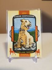 Lakeland Terrier 2018 Ud Goodwin Champions Canine Companions Patch #Cc121