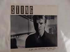 "STING ""IF YOU LOVE SOMEBODY"" PICTURE SLEEVE! BRAND NEW! ONLY NEW COPY ON eBAY!"