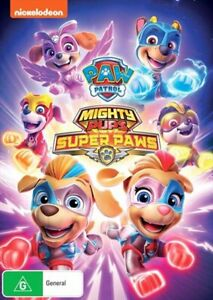 Paw Patrol - Mighty Pups - Super Paws DVD