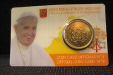 Vaticano COIN CARD 2017 50 CENT