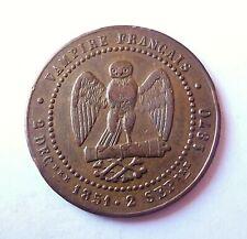 NAPOLEON III  médaille satirique 25mm