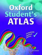 """VERY GOOD"" OXFORD STUDENT ATLAS, Wiegand, Patrick, Book"