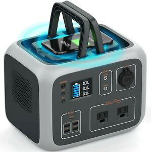 Portable Power Station,Solar Generator for Camping,wireless charging
