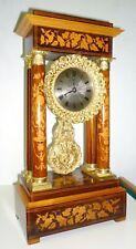 Reloj de portico o columnas antiguo, Charles X
