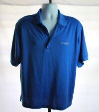 Columbia PFG Blue Short Sleeve Polo Men's Sz S