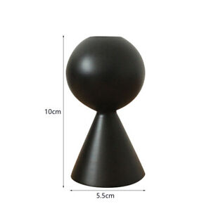 Wooden Candle Holder Candlestick Candle Seat Minimalist Style Creative ArtH36