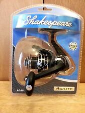 Shakespere Agility Fishing Reel AG40B Spinning Fishing Fresh Water R/L NEW