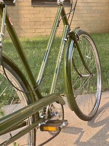 Vintage Green 1974 Raleigh Sports 3 speed Sturmey Archer