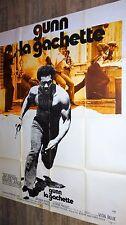 GUNN LA GACHETTE !   affiche cinema  blaxploitation 1977