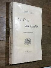 Stanislas Meunier LA TERRE QUI TREMBLE Delagrave SÉISME / Tremblement de Terre