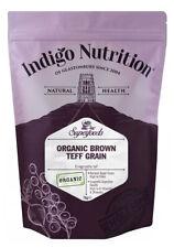 Indigo Herbs Organic Brown Teff Grain 500g -1kg