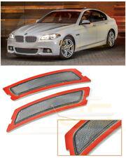 For 12-16 BMW F10 5-Series M-Sport | CRYSTAL SMOKE Side Marker Reflector Lights