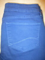 Not Your Daughters Jeans NYDJ Aliina Legging Stretch Womens Blue Sz 8 x 28 Mint