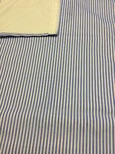 ABI horizon static caravan lounge curtains thermal lined 3 pairs (blue stripe)