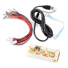 Encodeur USB Une Manette Arcade PC Zéro Retard Pr Mame Raspberry Pi 1/2/3 AC425