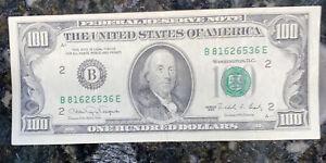 100 dollar bill 1990 Excellent Condition #6