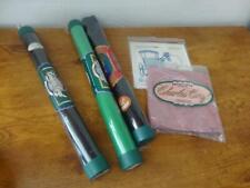 Lot 3 rolls/tubes&2 flat Charles Craft-Cross Stitch Fabric-Aida,Evenweave