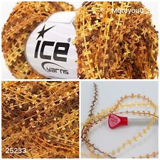 ICE POLYPOD Knitting Wool Brown Shades 1 Ball Ref 25233
