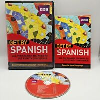 Get by in Spanish (Book & CD) by Hancock, Matthew Mixed media product Book The