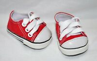 Fits Our Generation American Girl Doll Journey 18 Dolls Red Runners Sneakers