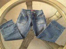Unionbay Womens Juniors Denim Capri Pants Size 0
