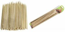 100Pcs 30CM Smooth Bamboo Wooden Food Skewer Sticks - BBQ Kebab Buffets Party